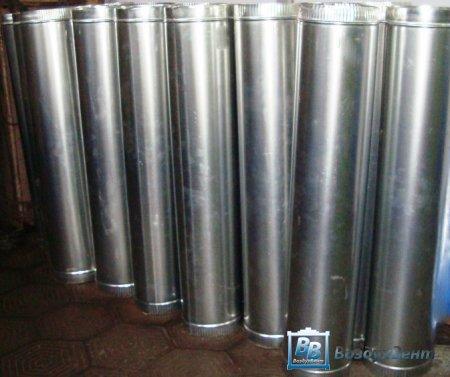 Круглые воздуховоды из оцинкованной стали